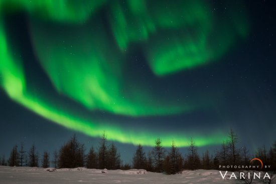 RAW Image format used to control the high ISO Noise Norther Light, Iceland by Varina Patel