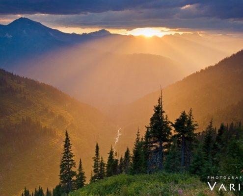 Landscape Photography in Glacier National Park, Montana by Varina Patel
