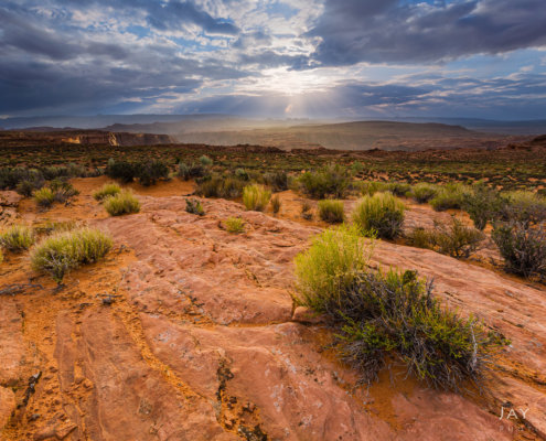 Cover for Storm Light in Landscape Photography Blog post by Jay Patel
