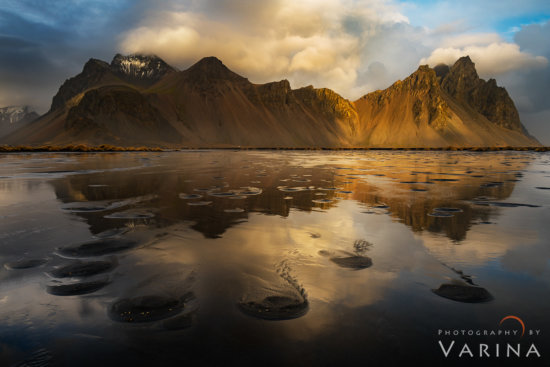 Nature Photography from Stokksnes Headland - Vestrahorn, Iceland by Varina Patel