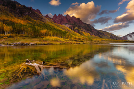 Autumn Landscape Photography with Reflections by Jay Patel