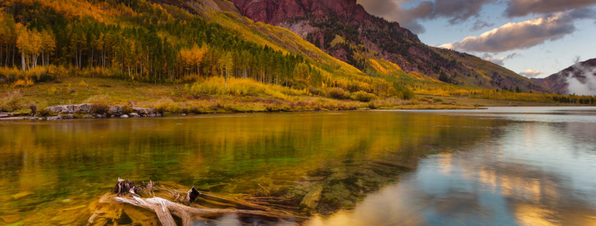 Fall Landscape Photography from Snowmass Wilderness, Colorado by Jay Patel