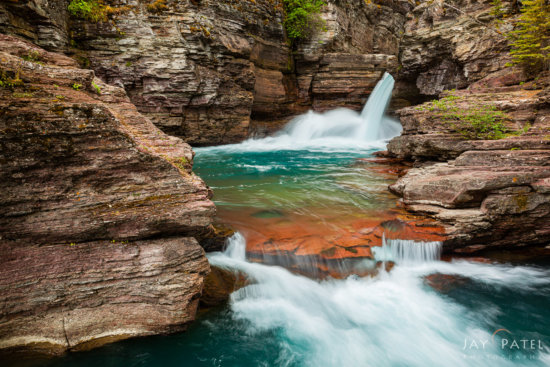Landscape photography created with exposure blending in Photoshop using layers and masks - Glacier National Park, Montana by Jay Patel