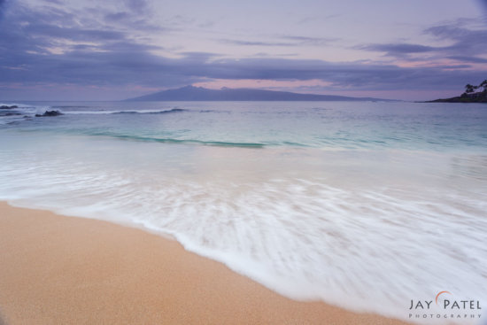 Nature Photography Workflow Example, Napili Beach, Maui, Hawaii