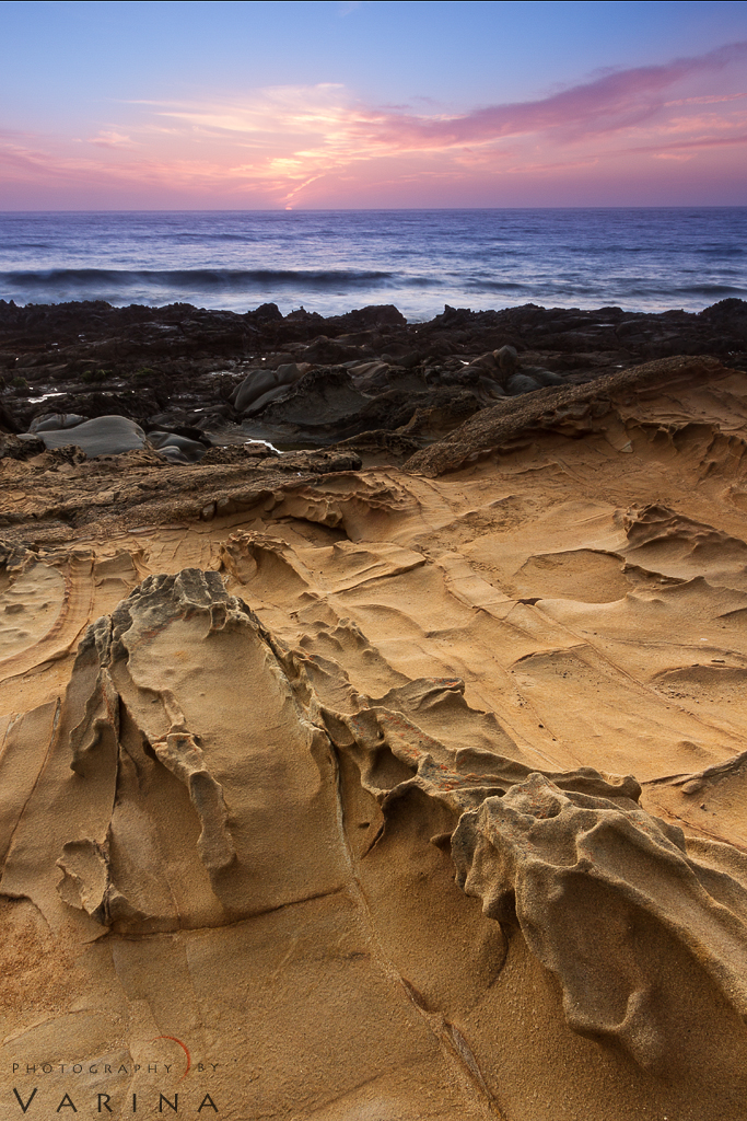 Landscape Photography from Bean Hollow State Park, California by Varina Patel