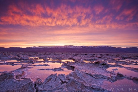 Landscape photo captured using exposure bracketing from Death Valley National Park, California by Varina Patel