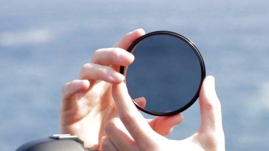 A Circular Polarizer photography filter cuts through glare.