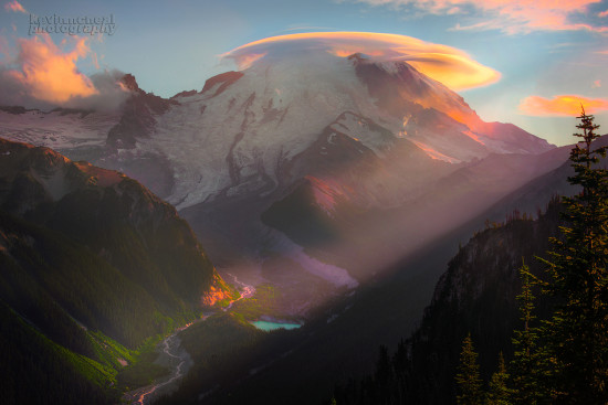 Landscape Photography from Silver Forest Trail on the Sunrise side of Mt Rainier National Park by Kevin McNeal