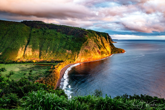 Big Island Photography Location at Waipio Valley by CJ Kale