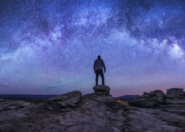 Peter Coskun's Night Portrait under Starry Skies