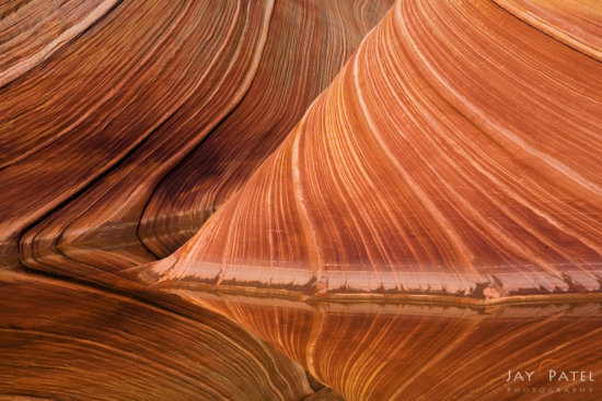 Nature Photography Abstract from Vermillion Cliffs, Arizona by Jay Patel