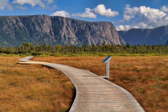 Western Brook Pond, Gros Morne National Park, Newfoundland, by Anne McKinnell