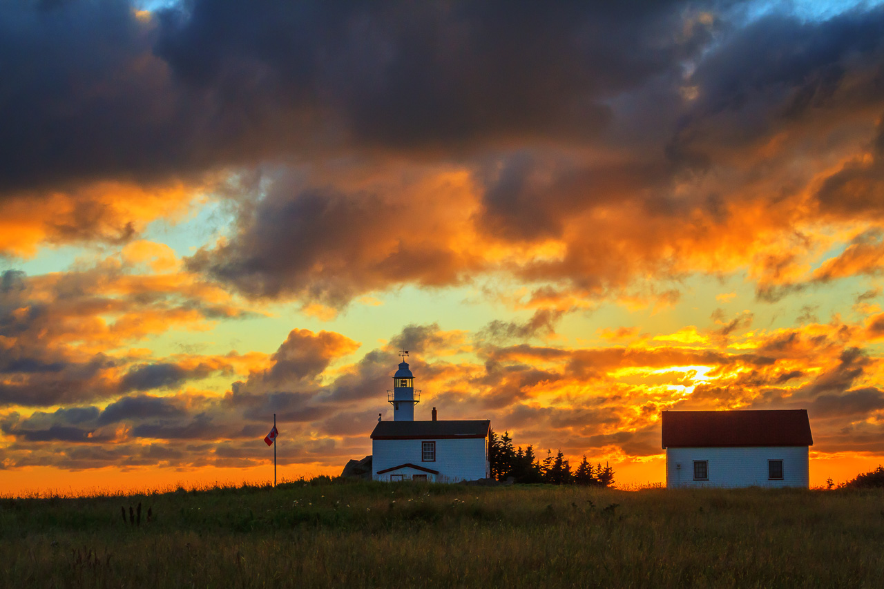 Lobster Cove Lighthouse, Gros Morne National Park, Newfoundland, by Anne McKinnell