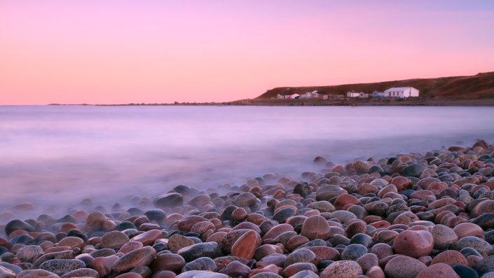 Green Point Beach, Gros Morne National Park, Newfoundland, by Anne McKinnell