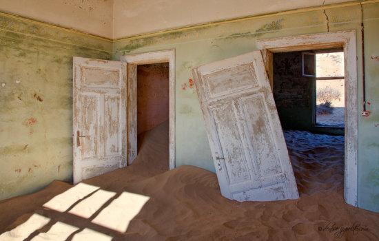 Kolmanskop, Namibi
