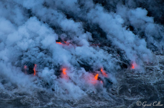 Aerial View of Lava