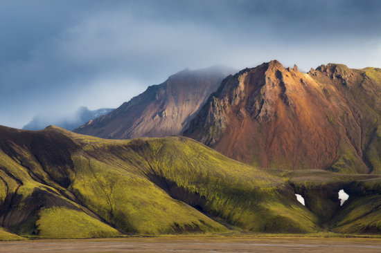 Mountain photography in Landmannalaugar, Iceland by Sarah Marino