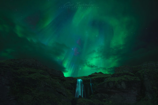 Norther Lights by pro night photographer Clint Burkinshaw