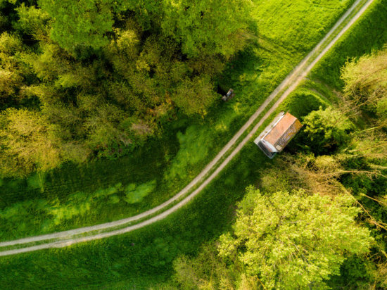 Drone Photography with ISO 100 setting
