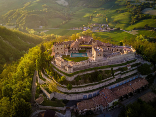 Spectacular travel photography from Castle of Montesegale, Italy by Ugo Cei