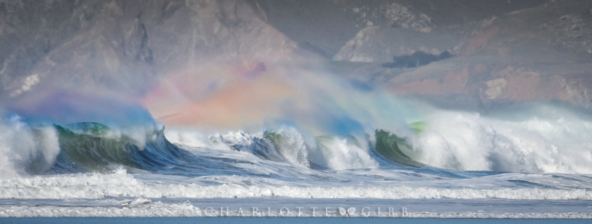 Cover for landscape photography blog post about shutter speed by Charlotte Gibb.