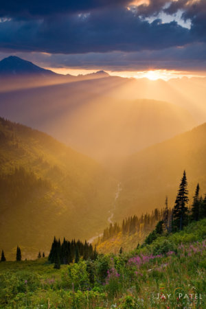 Nature photography from Glacier National Park by Jay Patel