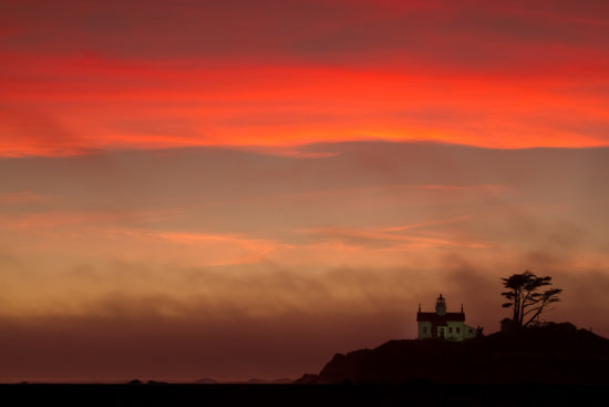 Battery Point Lighthouse, Crescent City, California by Anne McKinnell