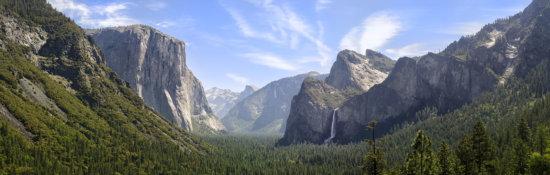 Tunnel View Panorama, Yosemite National Park, CA