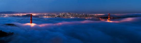 Golden Gate Panorama, San Francisco, CA