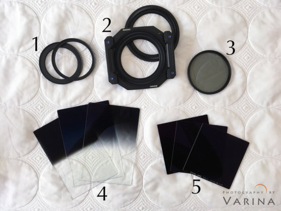 The Difference Shapes and Types of Photography Filters by Landscape Photographer Varina Patel