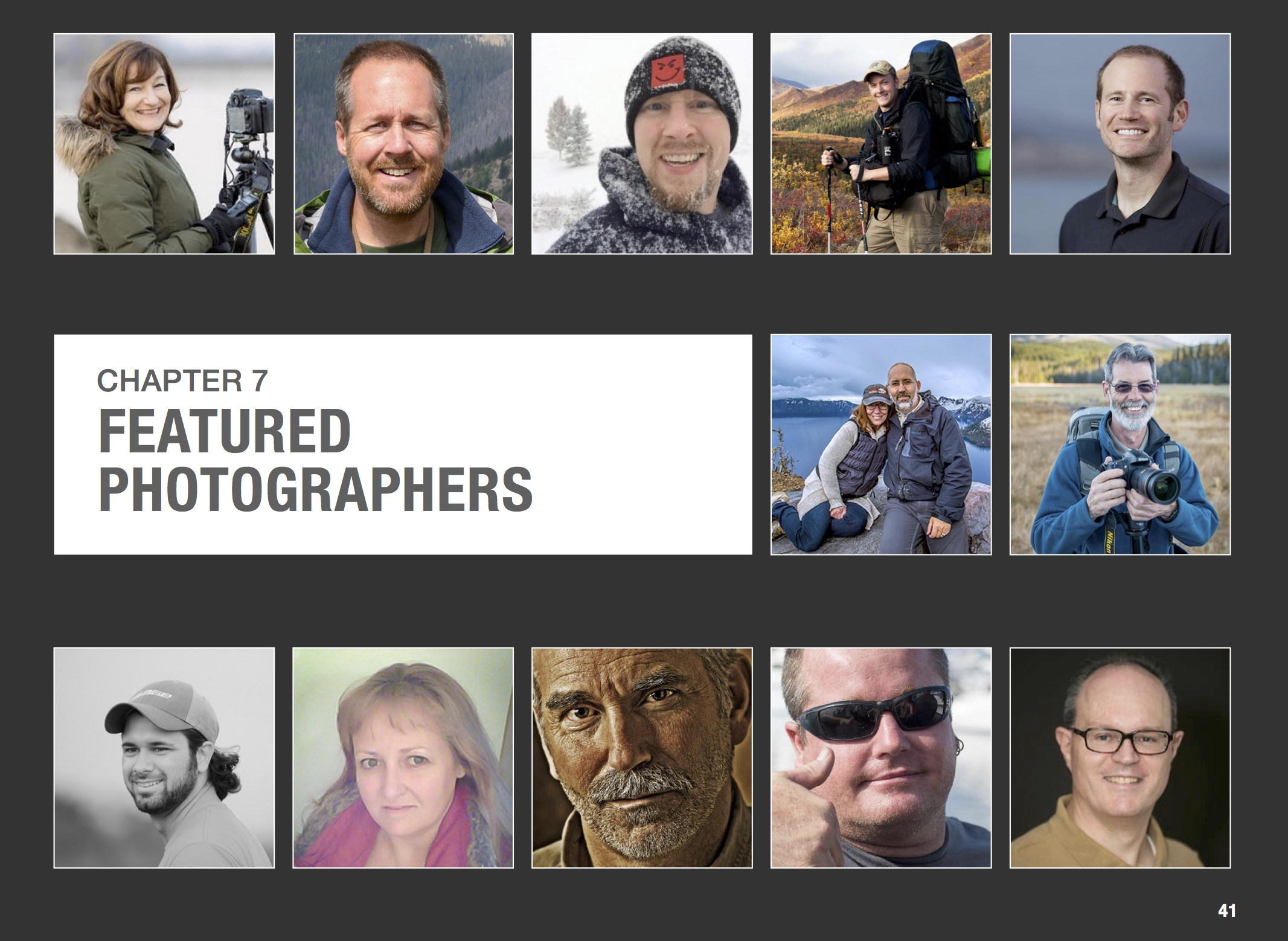Nature photography business eBooks sample page by Patrica Davidson
