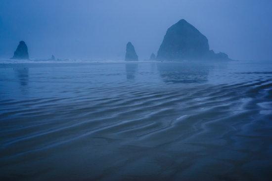 Cannon Beach, Oregon by Anne McKinnell