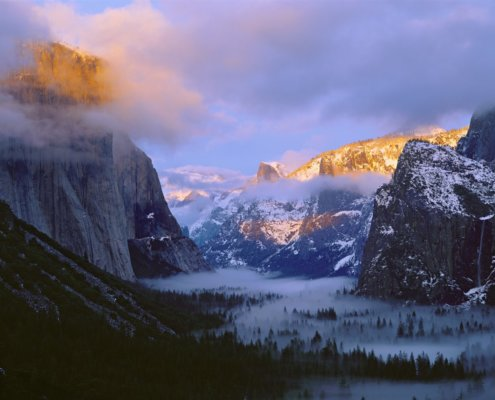 Cover for landscape photography blog about photographing National Parks by QT Loung