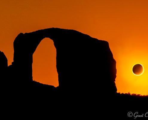 Annular Solar Eclipse Over Arizona
