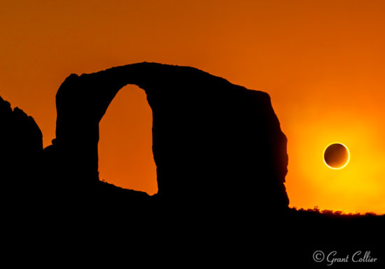 Annular Solar Eclipse Over Arizona