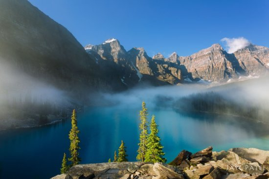 Landscape photography in Banff National Park by Jay Patel