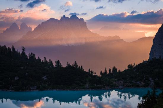Landscape photo using telephoto lens by Josh Cripps