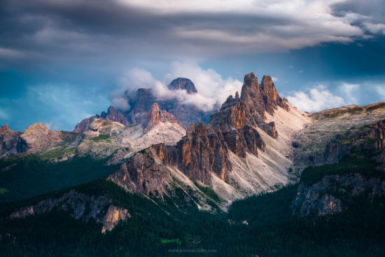 Landscape photography with telephoto lens by Josh Cripps