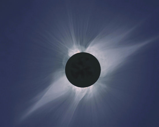 Total Solar Eclipse Over Baja California