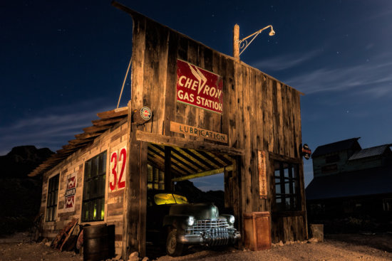Nelson Ghost Town in El Corado Canyon, Nevada by Anne McKinnell