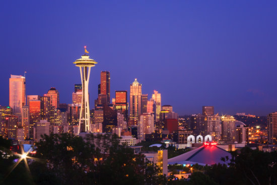 Seattle, Washington by Anne McKinnell