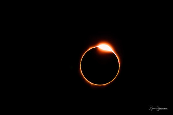 Great American Eclipse - Diamond Ring