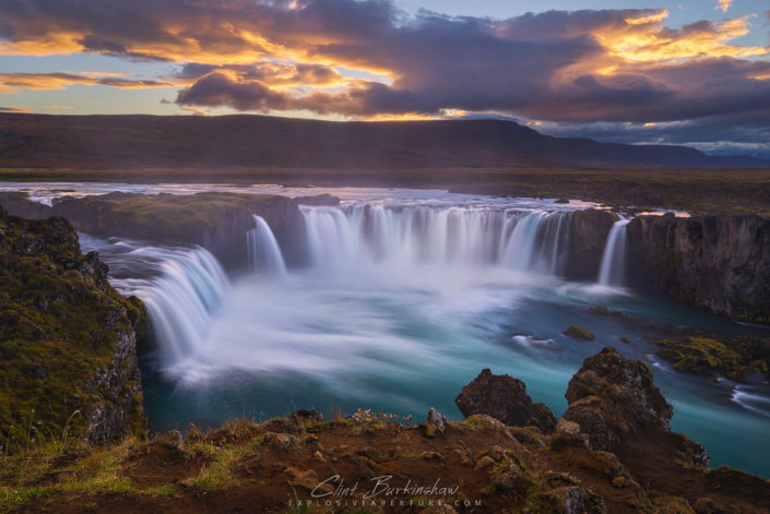 Godafoss by Clint Burkinshaw