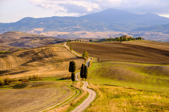 Photographing Tuscany: The countryside outside Pienza, Tuscany