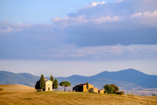 Vitaleta Chapel, Pienza