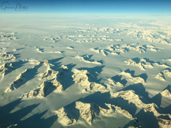 Over Greenland Mountains