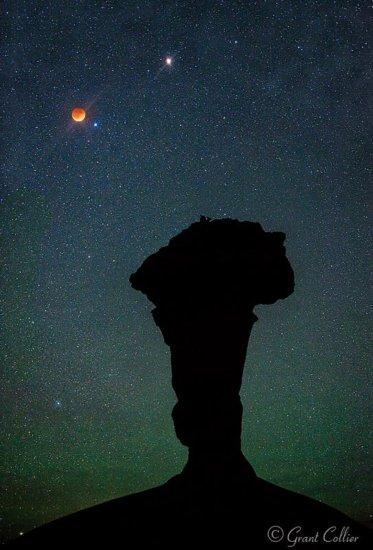 Blood Moon Over Utah