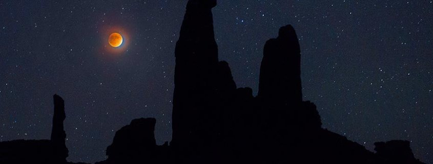 Total Lunar Eclipse over Canyonlands N.P.