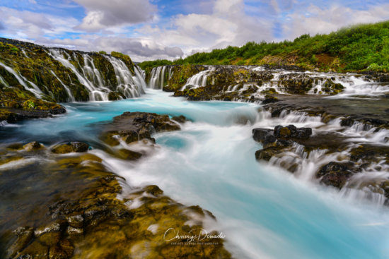 Iceland Waterfall Landscape Photography by Chrissy Donadi