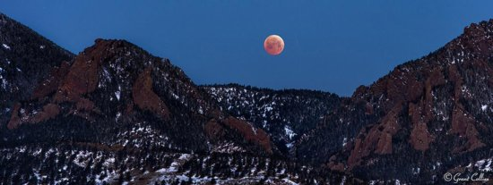 total lunar eclipse, January 31, 2018